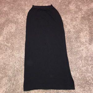 Splendid Maxi Skirt with side slit (Barely worn)